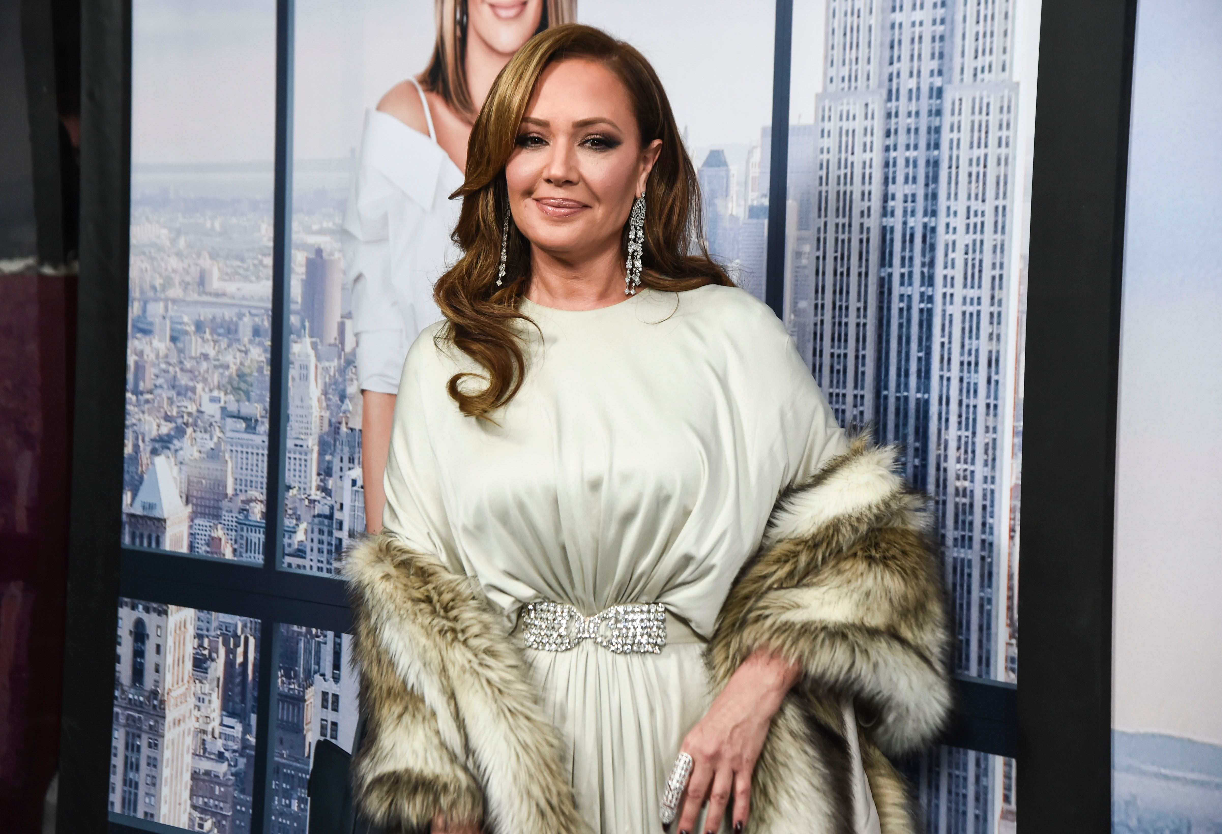 """Leah Remini at the """"Second Act"""" World Premiere on December 12, 2018 in New York City 