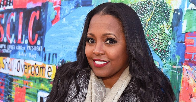 'The Cosby Show's Keshia K Pulliam's Daughter Shows Cute Facial Expressions in Military Jacket