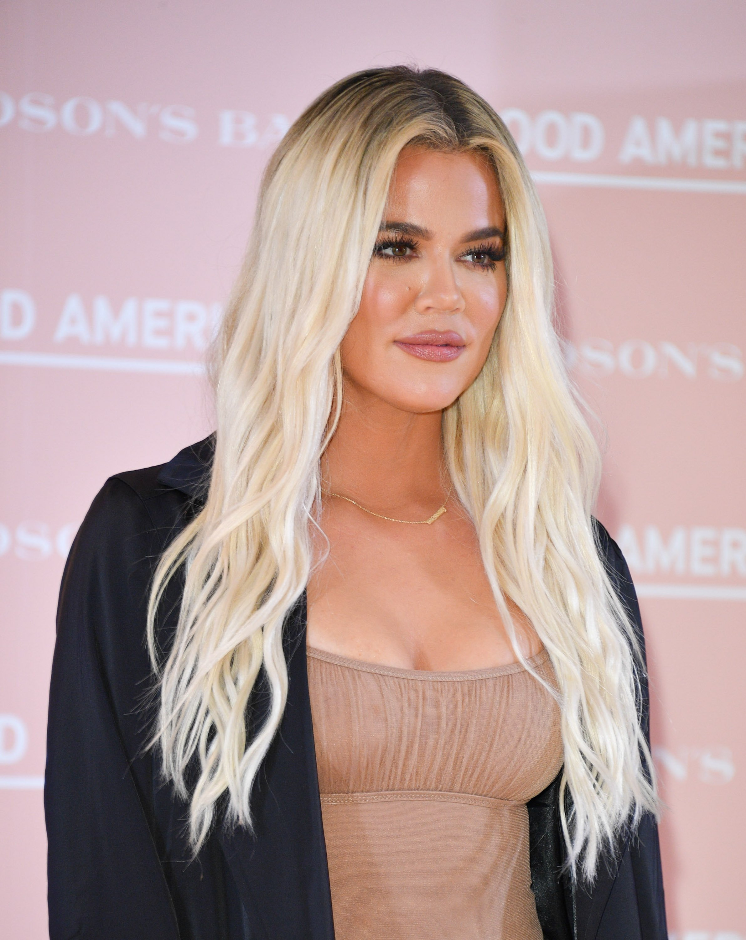 Khloe Kardashian attends Hudson's Bay's launch of Good American in Toronto on September 18, 2019. | Source: Getty Images.