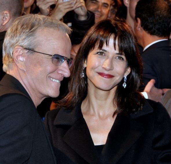 Actor Christopher Lambert junto a Sophie Marceau, una de sus tres exesposas.   Foto: Wikipedia