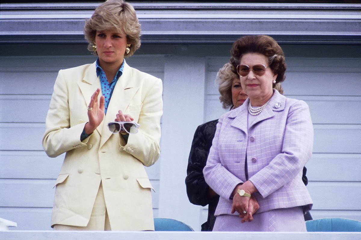 Princess Diana and Queen Elizabeth II. I Image: Getty Images.