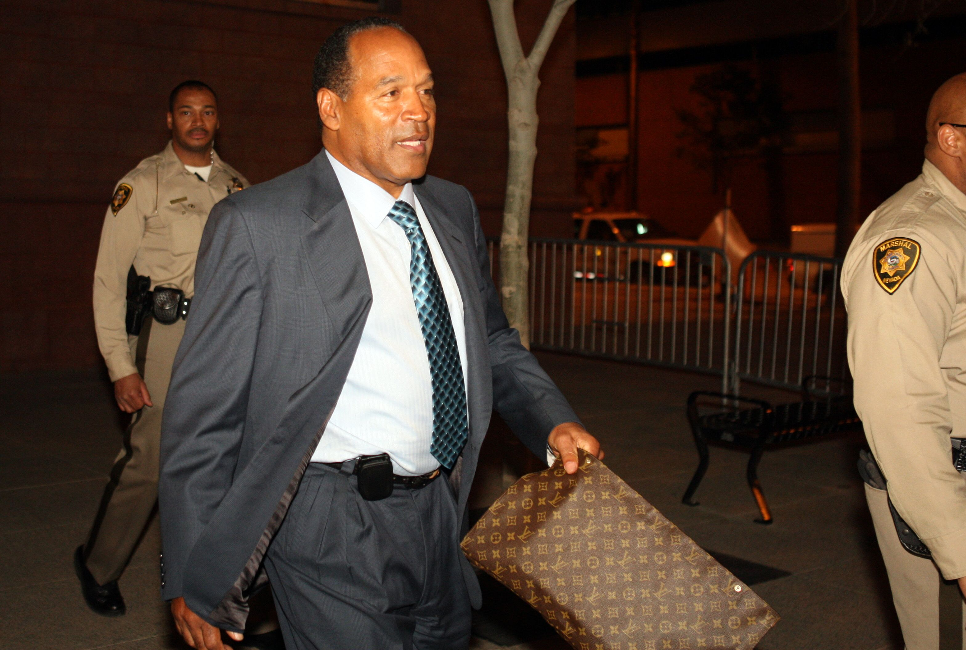 O.J. Simpson at the Clark County Regional Justice Center in 2008 | Source: Getty Images