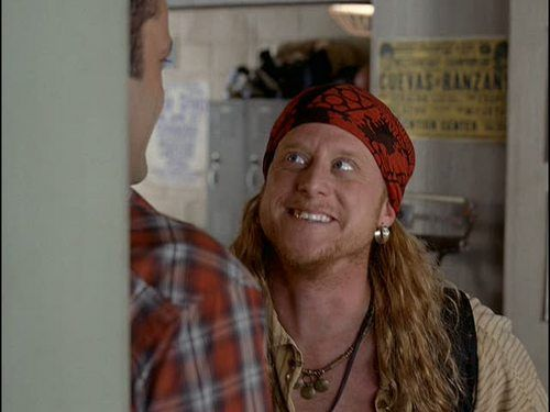 """Alan Tudyk as Steve the Pirate in """"Dodgeball."""" Image Source: Red Hour Productions. YouTube/Movieclips"""