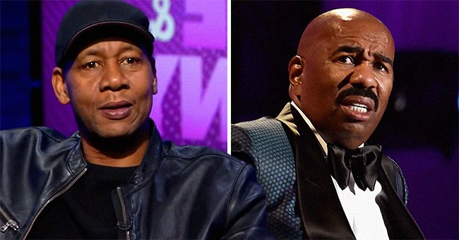 Mark Curry from 'Hangin' with Mr Cooper' Puts Steve Harvey on Blast for Allegedly Stealing His Comedy Act