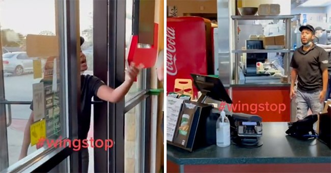 Wingstop Employee Gets Fired as She's Filmed Screaming at Work