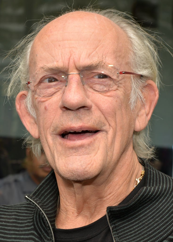 Christopher Lloyd arrives at Nostalgia Con '80s at Anaheim Convention Center  | Getty Images