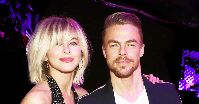 Julianne Hough's Brother Derek Shares Throwback Photos with Long Hair and Wearing Jeans