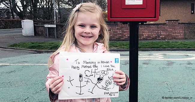 4-Year-Old Girl Received 'Reply' from Late Mother after Sending Her a Cute Card on Mother's Day