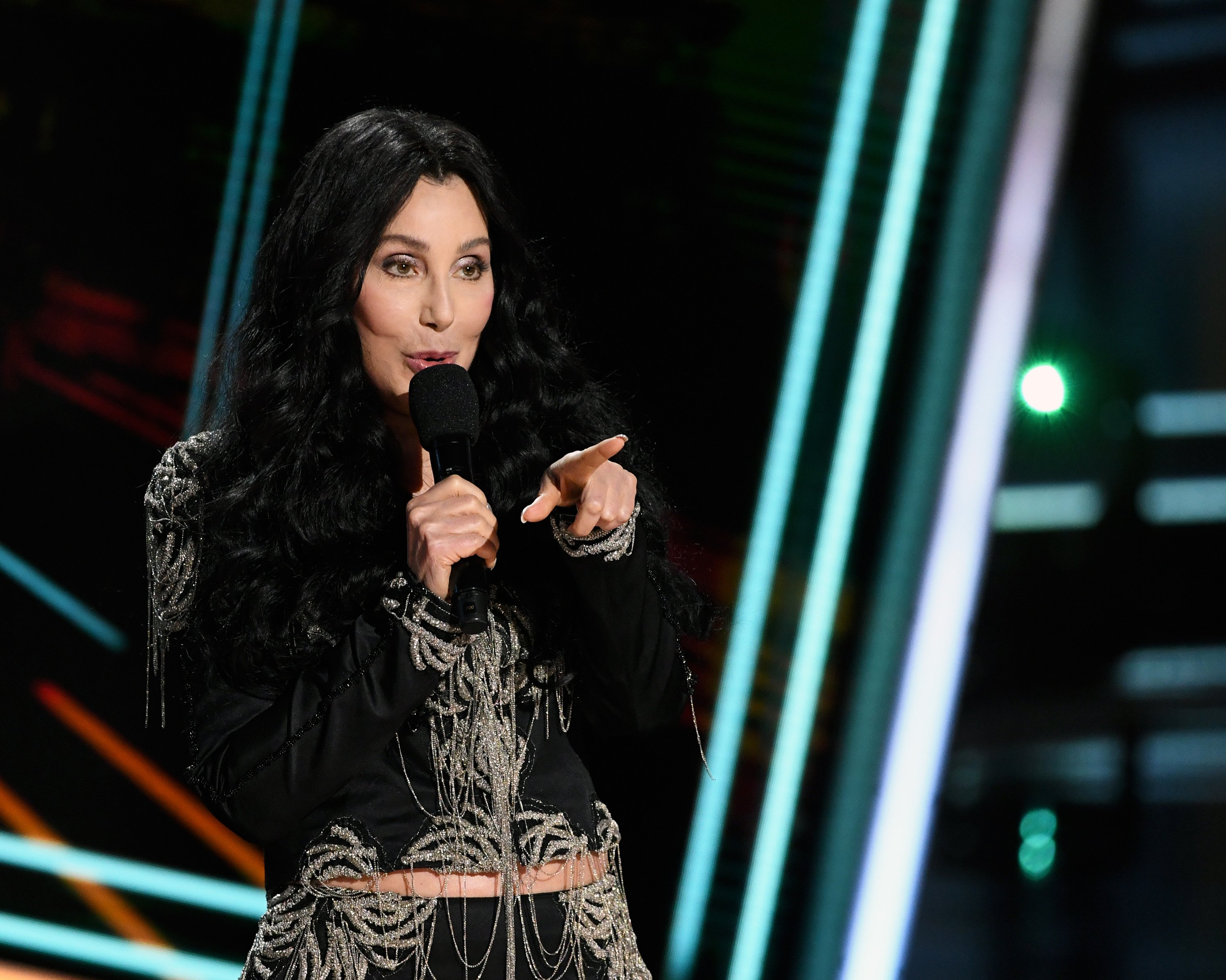 Cher presents the Icon Award at the 2020 Billboard Music Awards, broadcast on October 14, 2020, in Los Angeles, CA. | Source: Getty Images.