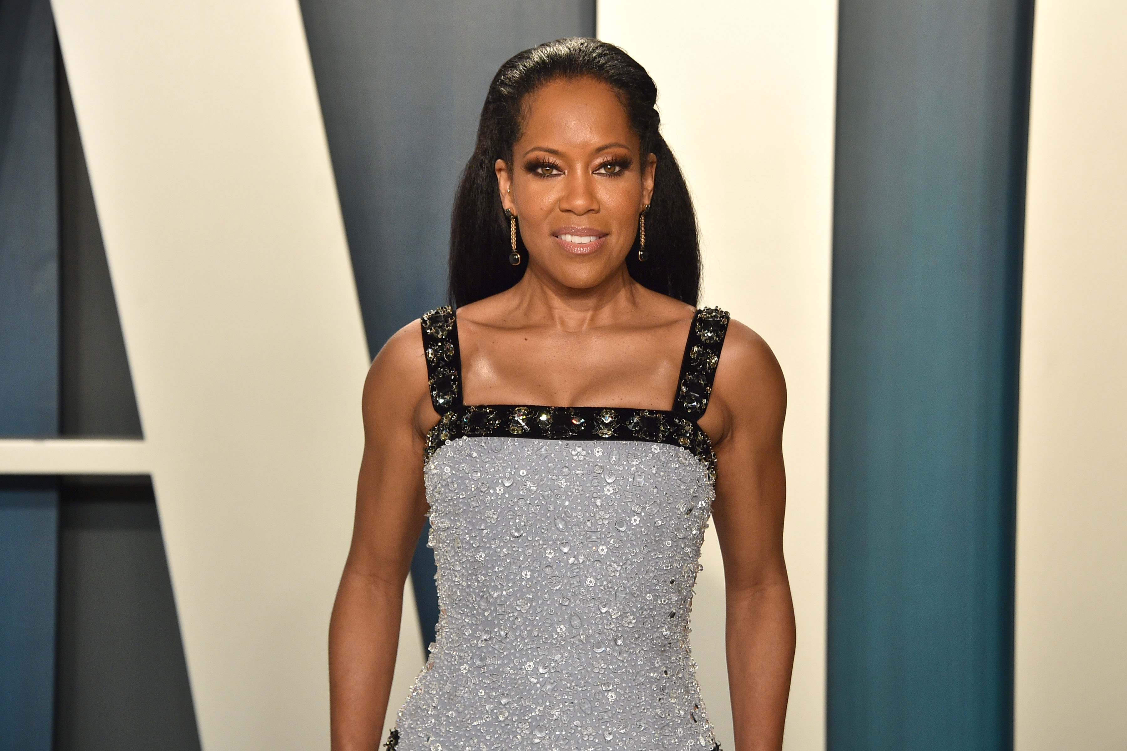 Regina King at Wallis Annenberg Center for the Performing Arts for the 2020 Vanity Fair Oscar Party on February 09, 2020 in Beverly Hills, California.| Source: Getty Images