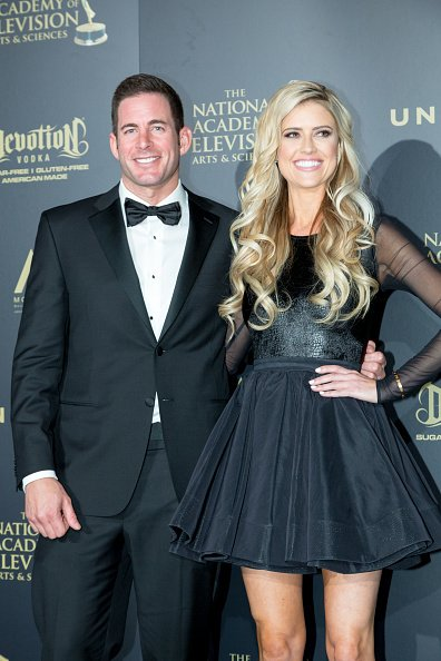 Tarek El Moussa and Christina Anstead at Pasadena Civic Auditorium on April 30, 2017 in Pasadena, California. | Photo: Getty Images