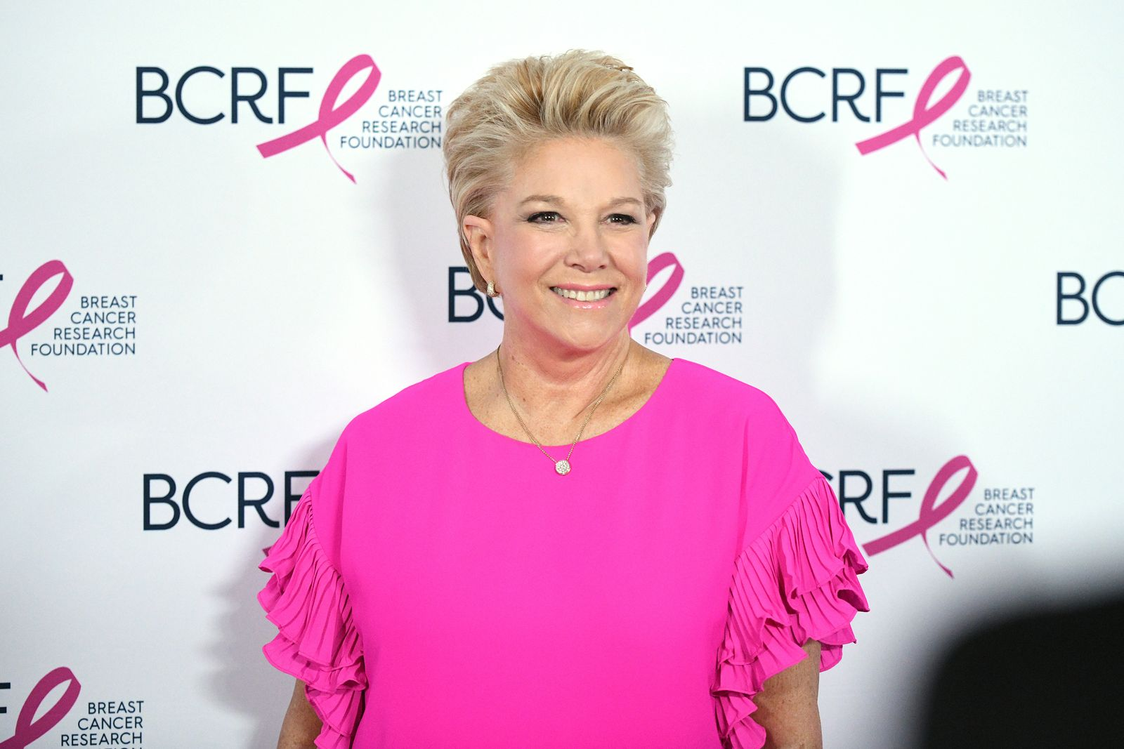 Joan Lunden at the Breast Cancer Research Foundation (BCRF) New York symposium & awards luncheon on October 17, 2019 | Photo: Getty Images
