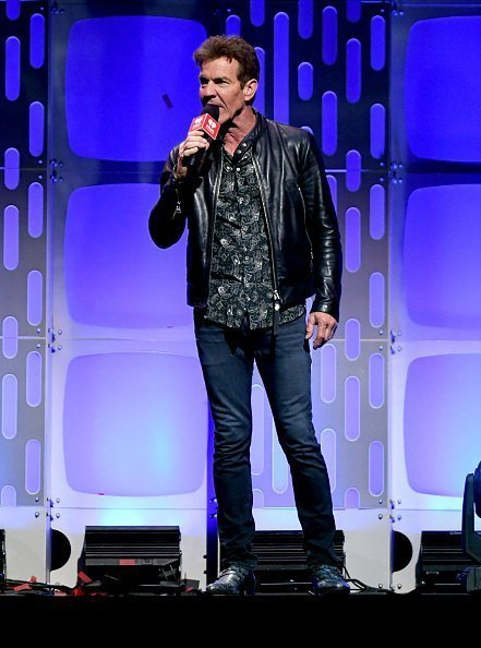 Dennis Quaid speaks onstage during the 2019 iHeartRadio Music Festival at T-Mobile Arena on September 20, 2019 in Las Vegas, Nevada | Photo: Getty Images