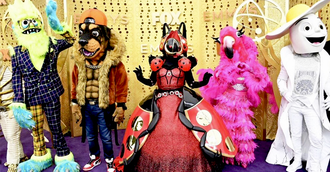 'The Masked Singer' Reveals Costumes for Season 2 at the Emmys Purple Carpet
