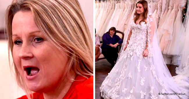 Mother Brands Daughter a 'Corpse Bride' after She Tries on a Quirky $3,400 Blue Wedding Dress
