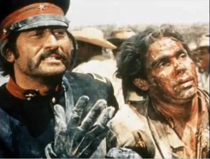 Jorge Russek fue un actor emblemático en el cine del lejano oeste. | Foto: YouTube/Spanish Films
