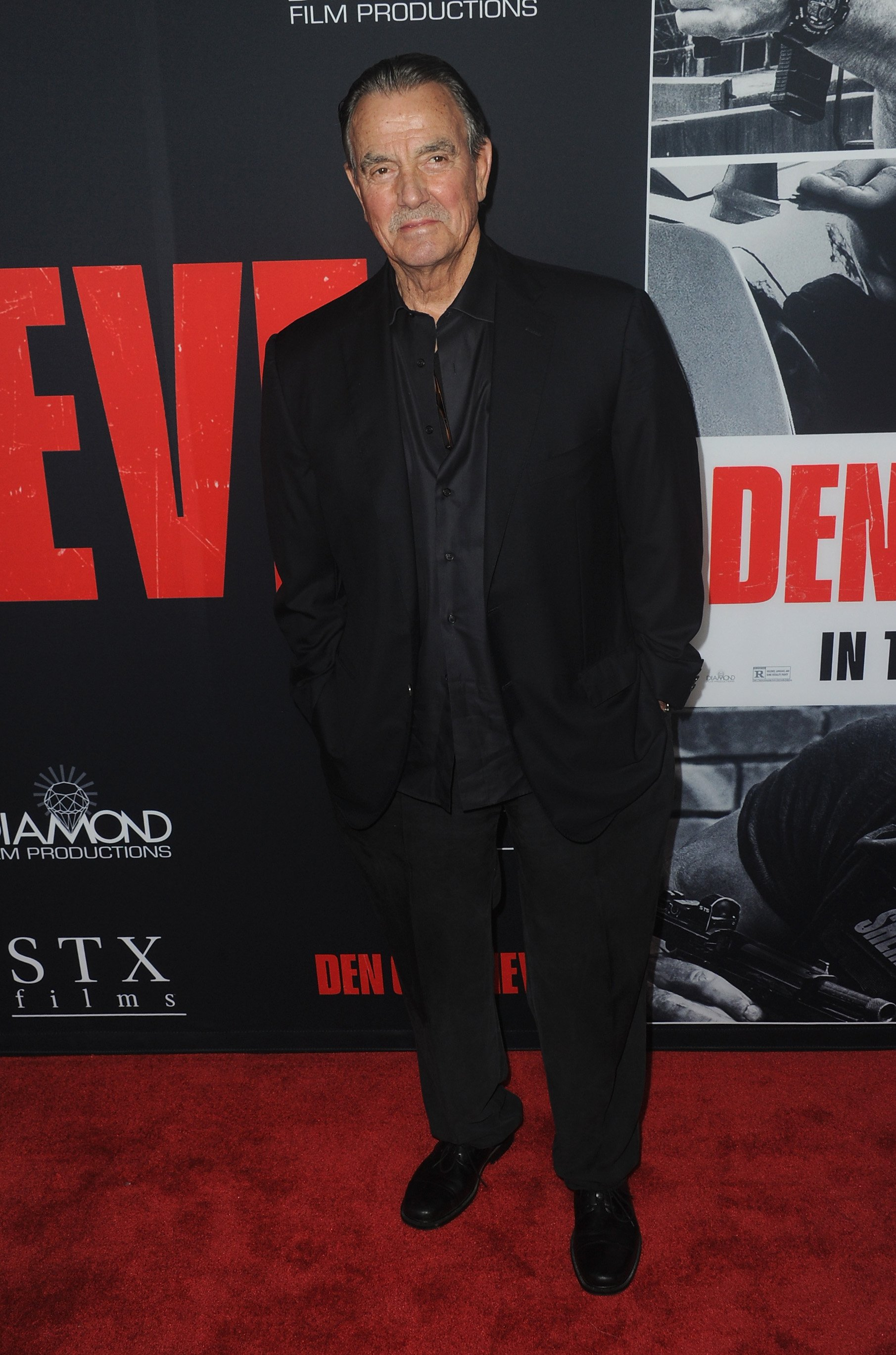 """Eric Braeden pictured at the Premiere Of STX Films' """"Den Of Thieves"""" held at Regal LA Live Stadium 14, 2018, California. 