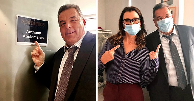 'Blue Bloods' Star Steve Schirripa Resumes Filming for the Show Amid COVID-19 (Photos)