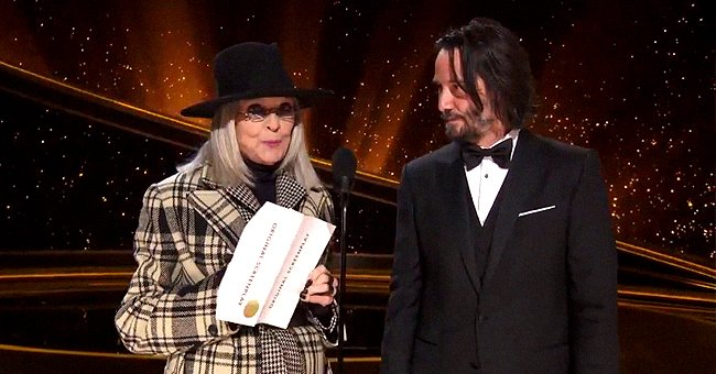 Keanu Reeves & Diane Keaton Reminisced about Their On-Screen Romance While Presenting Award at 2020 Oscars
