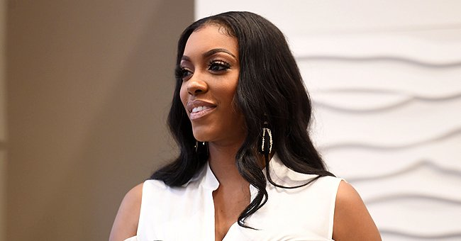 Porsha Williams' Daughter Pilar Melts Fans' Hearts Posing in a Blouse with Matching Pink Bows