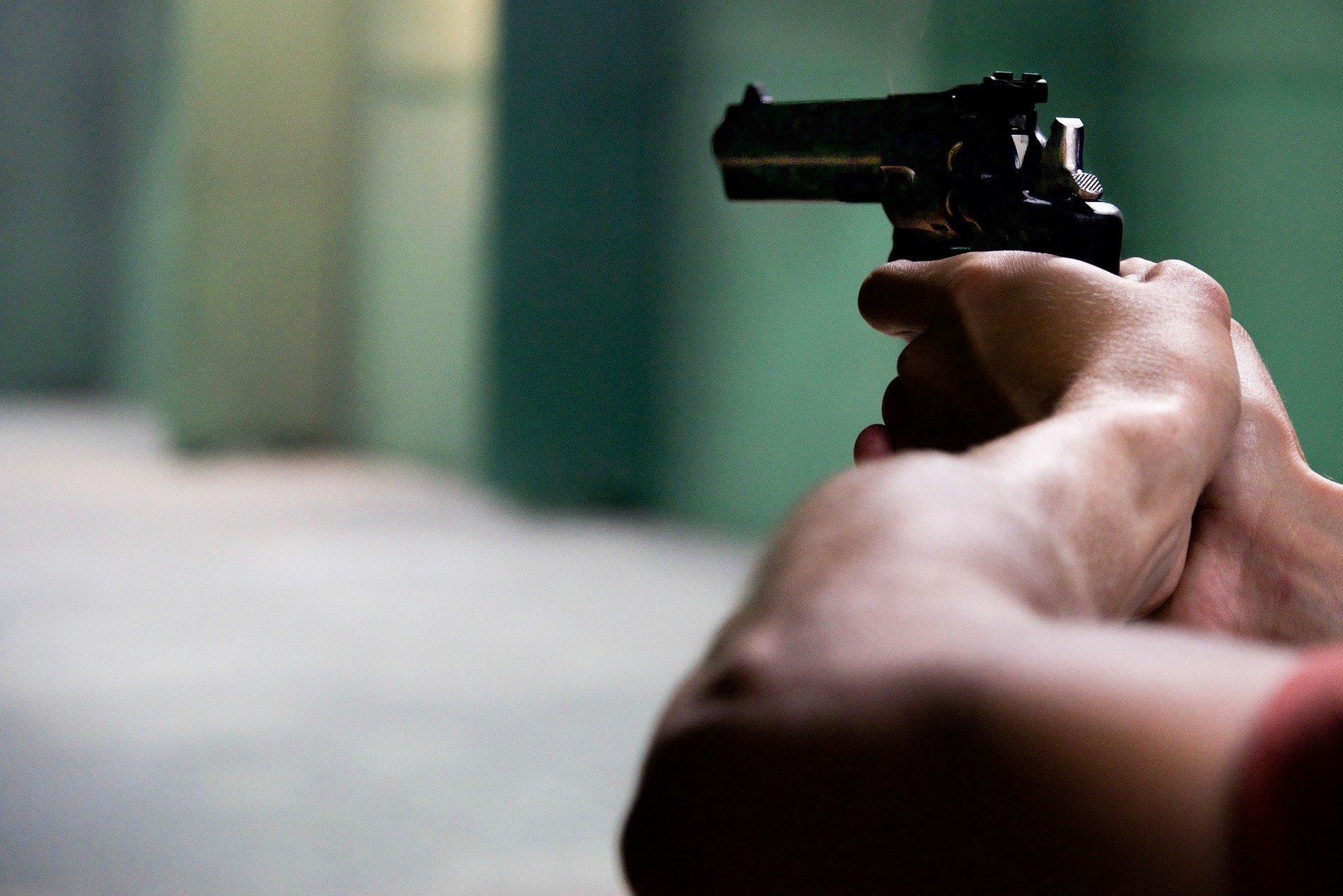 Pictured - A man pointing a gun   Source: Pixabay