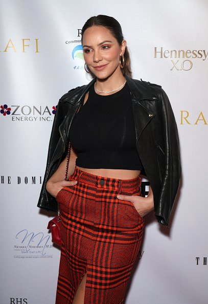 Katharine McPhee at Gladys Knight's 75th birthday party in Hollywood, California.| Photo: Getty Images.
