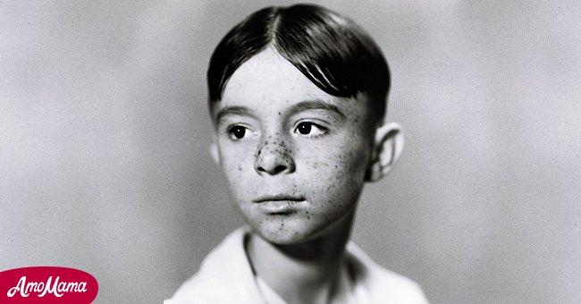 """A young Carl Switzer on """"Our Gang"""" 