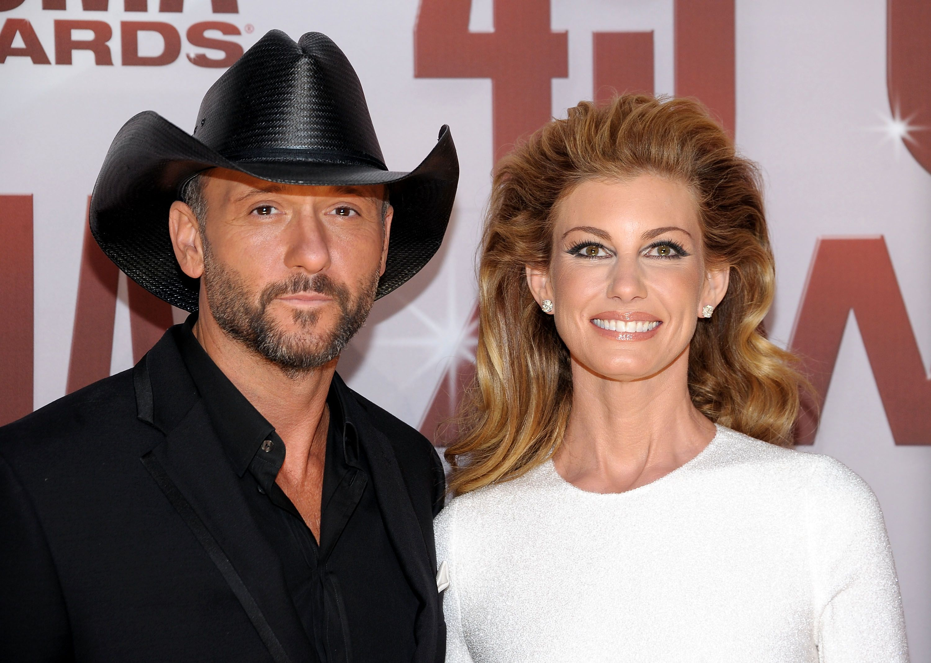 Tim McGraw and Faith Hill at the 45th annual CMA Awards at the Bridgestone Arena on November 9, 2011 in Nashville, Tennessee   Photo: Getty Images