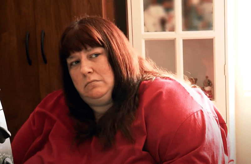 """Erica Wall during an episode of """"My 600-lb Life.""""   Photo: YouTube/TLC"""
