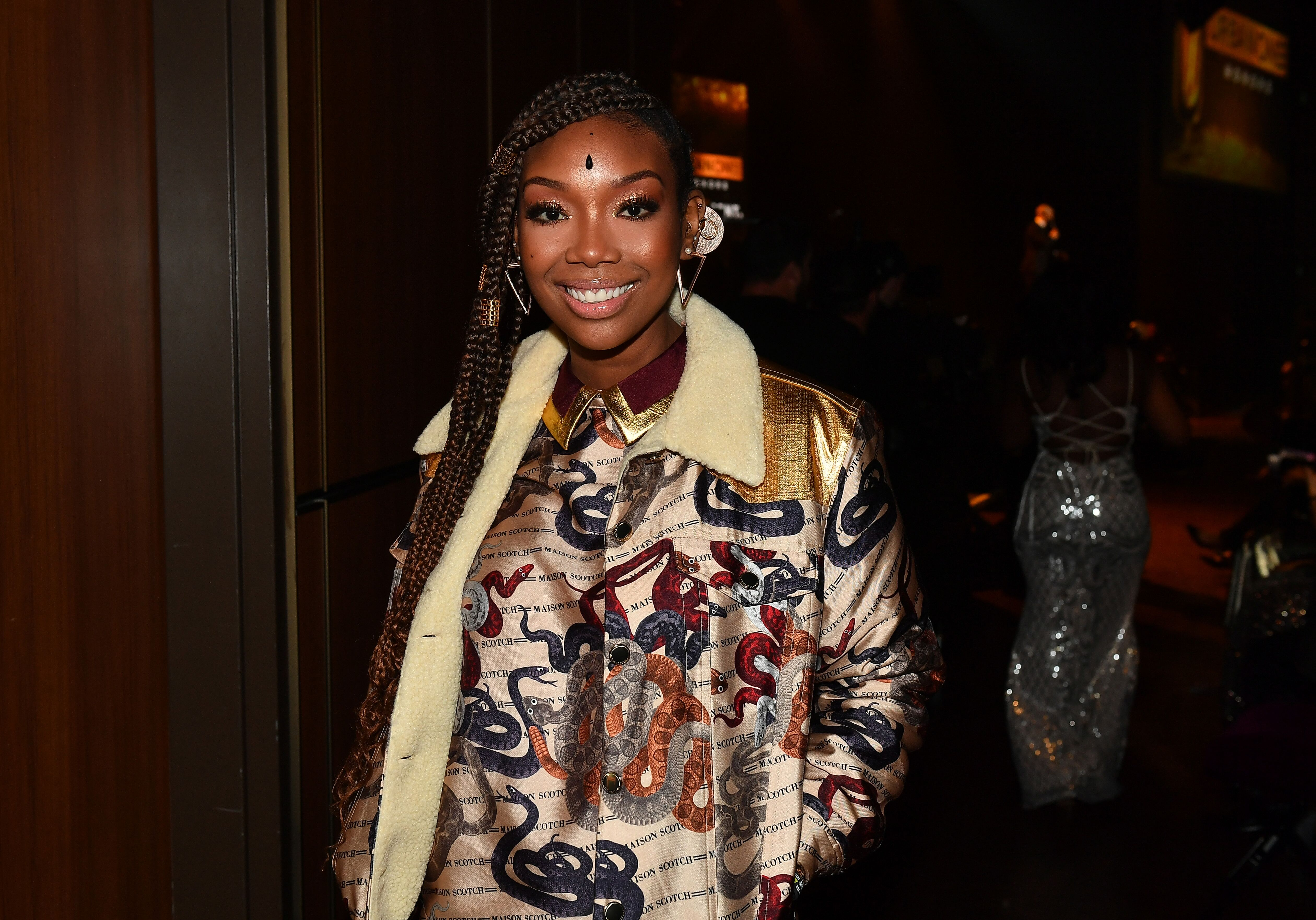 Singer Brandy attends 2019 Urban One Honors at MGM National Harbor on December 05, 2019 | Photo: Getty Images