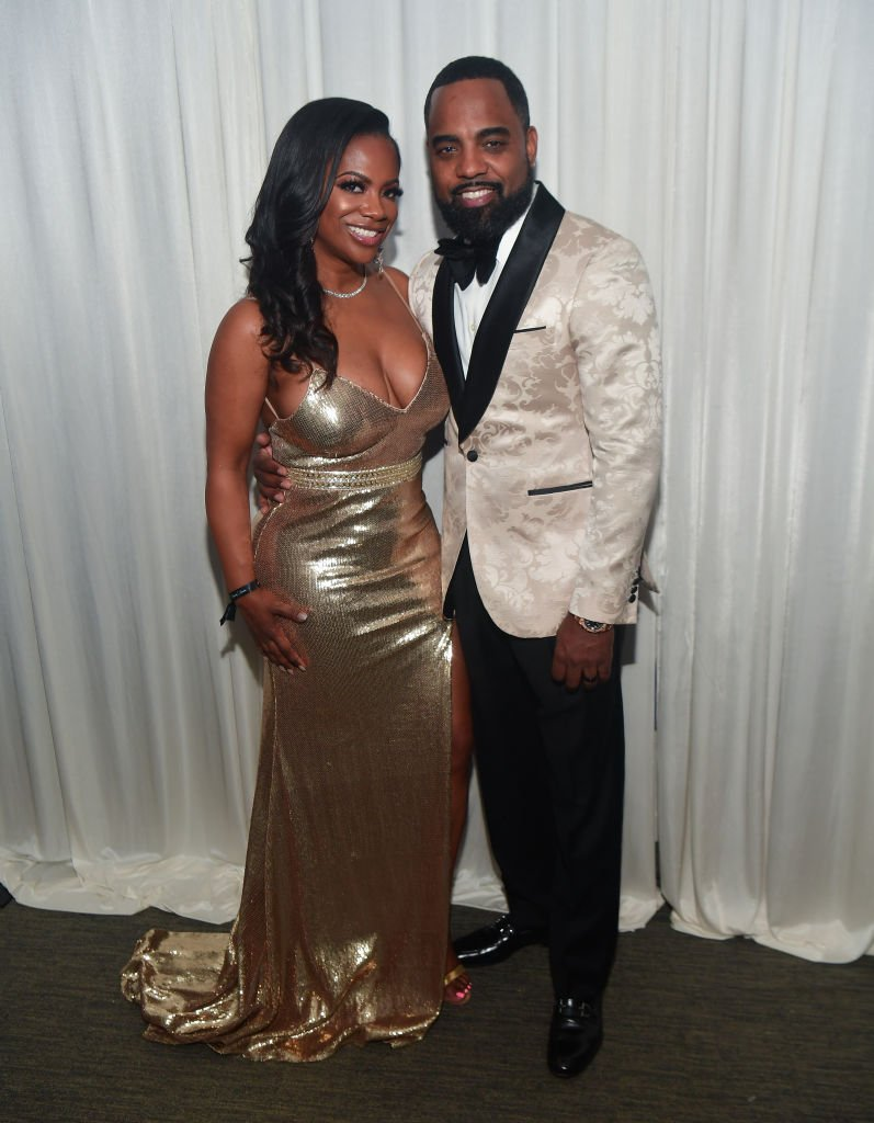 Kandi Burruss and Todd Tucker at the 2020 Leaders and Legends Ball at Atlanta History Center on January 15, 2020. | Photo: Getty Images