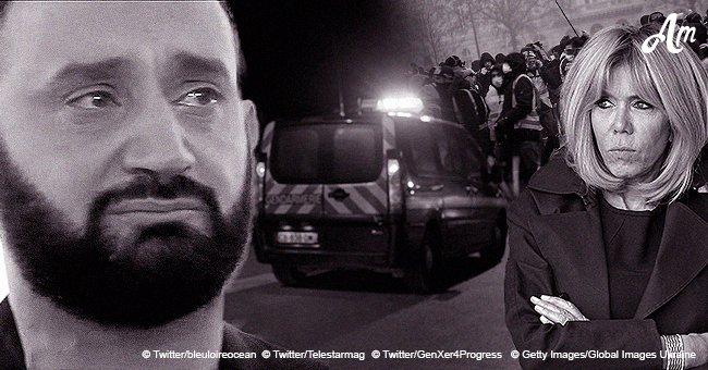 Brigitte Macron touchée par les Gilets jaunes, Cyril Hanouna a fondu en larmes, Une tragédie près de Nantes : Top de la journée