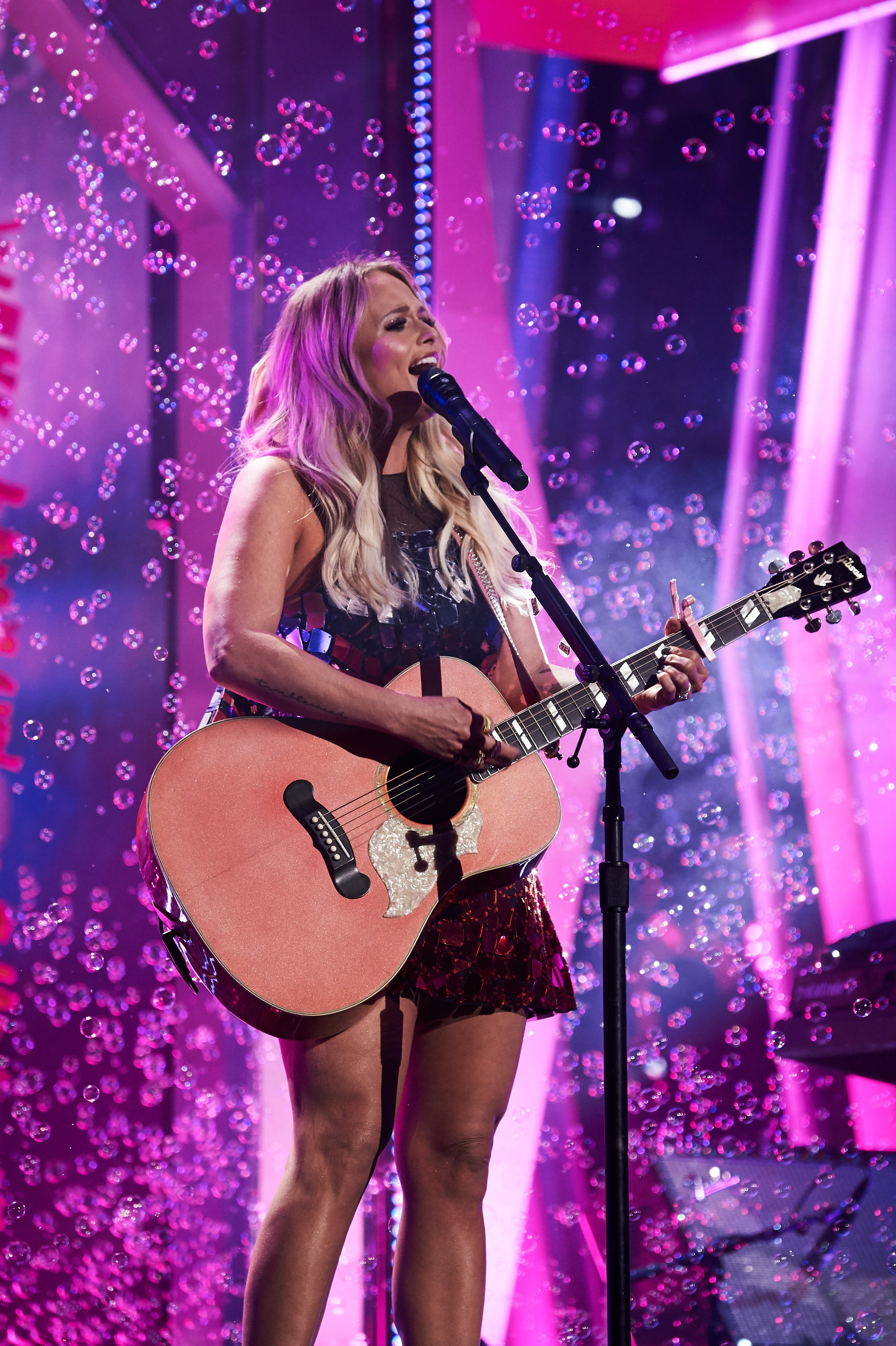 Miranda Lambert performs at the Country Music Awards in Nashville, Tennessee on November 13, 2019 | Photo: Getty Images
