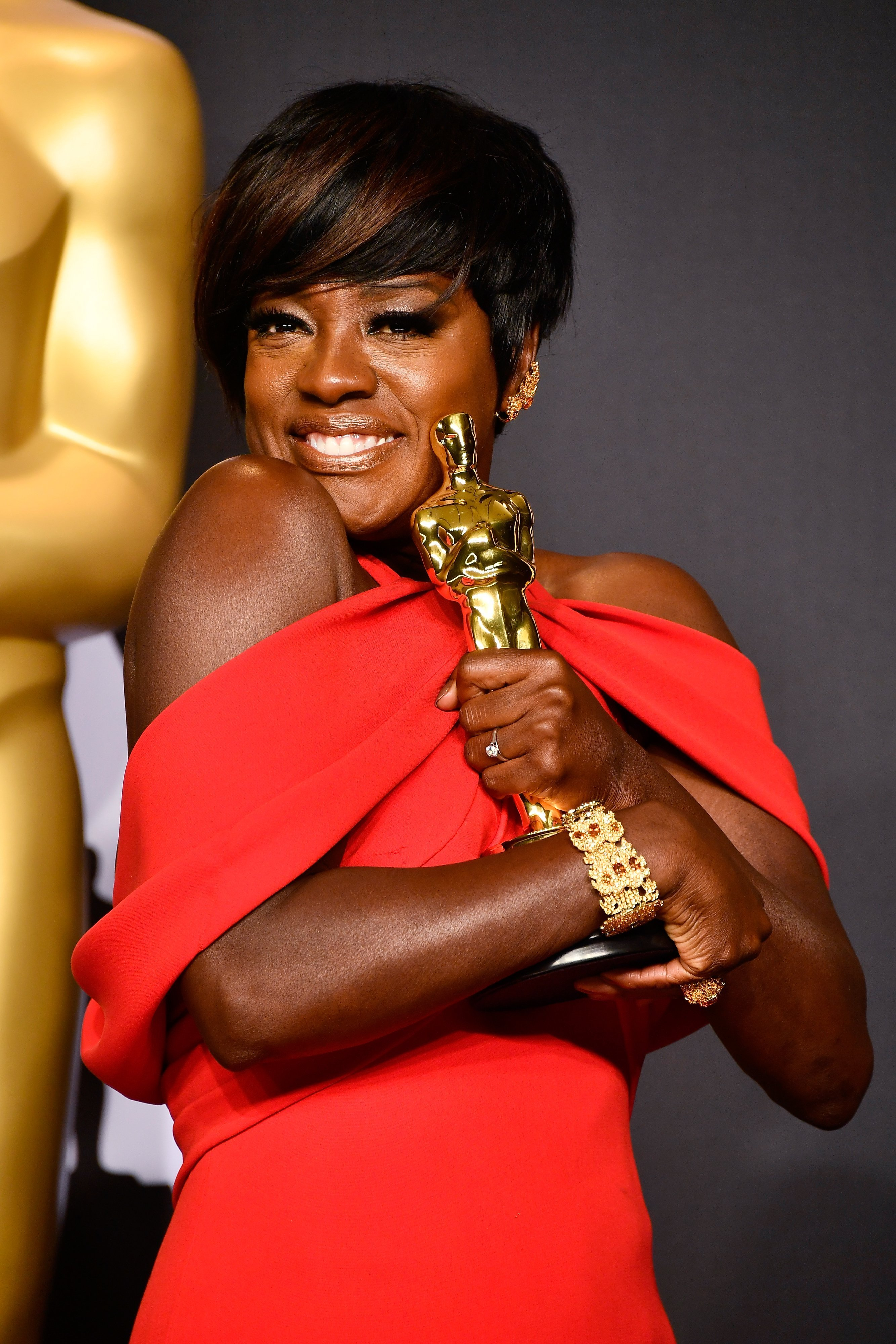 Viola Davis at the 89th Annual Academy Awards at Hollywood & Highland Center on February 26, 2017|Photo: Getty Images