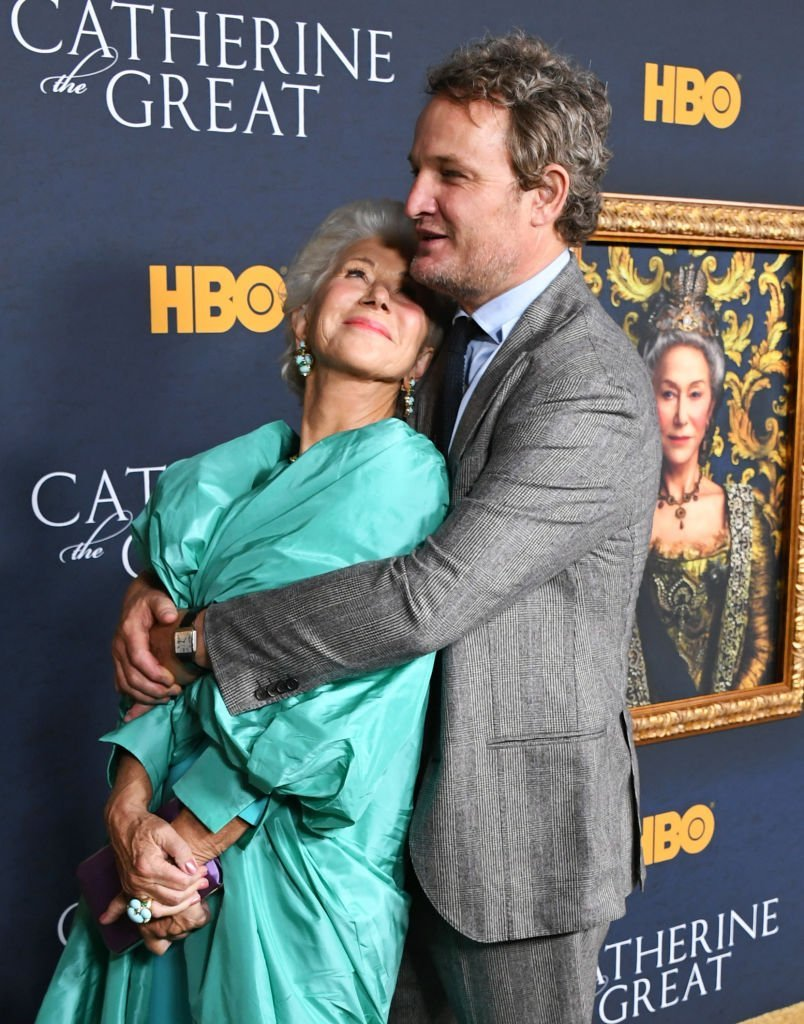 "Helen Mirren and Jason Clarke attend the Los Angeles Premiere Of The New HBO Limited Series ""Catherine The Great"" at The Billy Wilder Theater. 