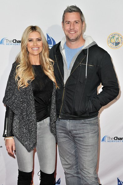 Grand Marshal Christina Anstead and Ant Anstead attend the 111th Annual Newport Beach Christmas Boat Parade opening night at Marina Park on December 18, 2019 in Newport Beach, California | Photo: Getty Images