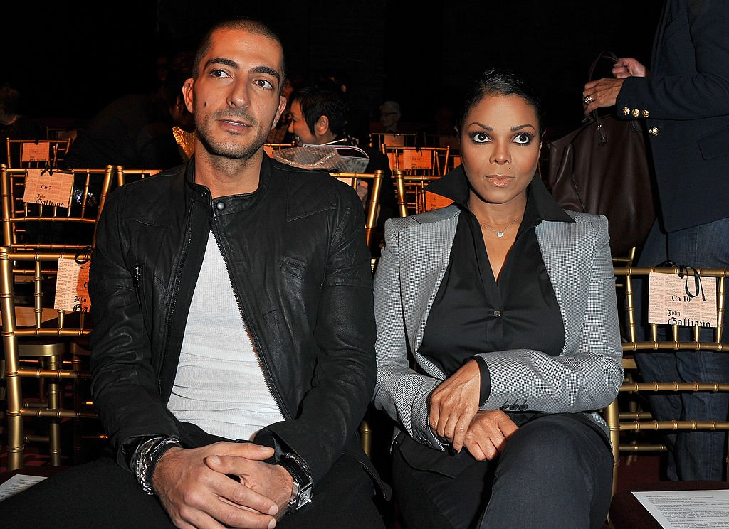 Wissam Al Mana and Janet Jackson at the John Galliano Ready to Wear Spring/Summer 2011 show on October 3, 2010, in Paris | Photo: Getty Images