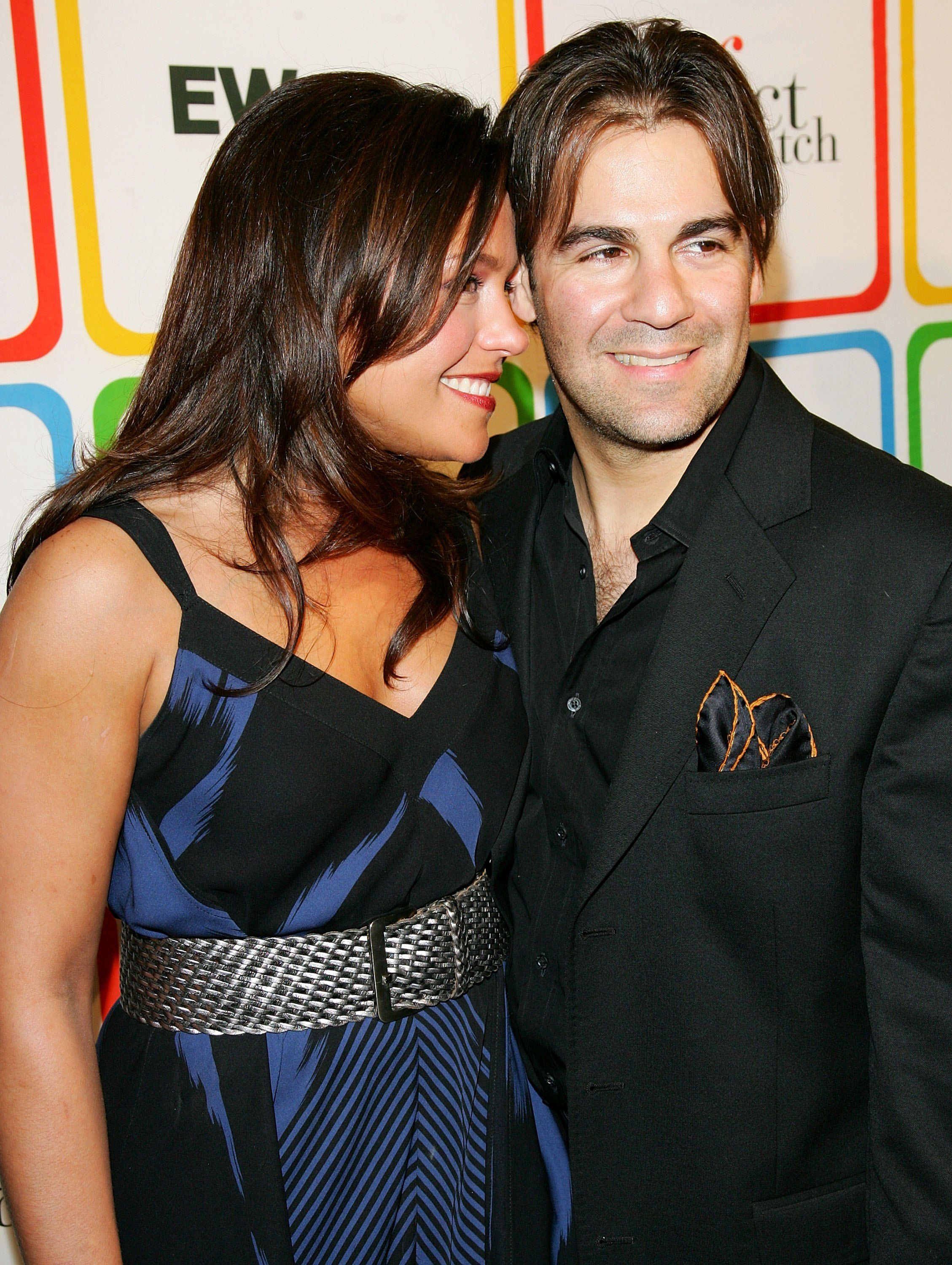 """Rachael Ray and John Cusimano at Entertainment Weekly's """"Must List"""" party in 2006 