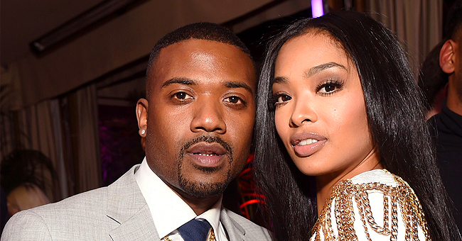 LHH Stars Ray J and Princess Love's Daughter Melody Wears Burberry Dress in Adorable New Photos