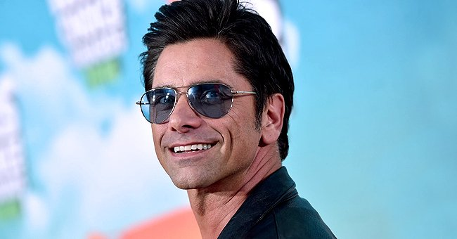 John Stamos and his Son Billy Watch Anti-racism Show Together