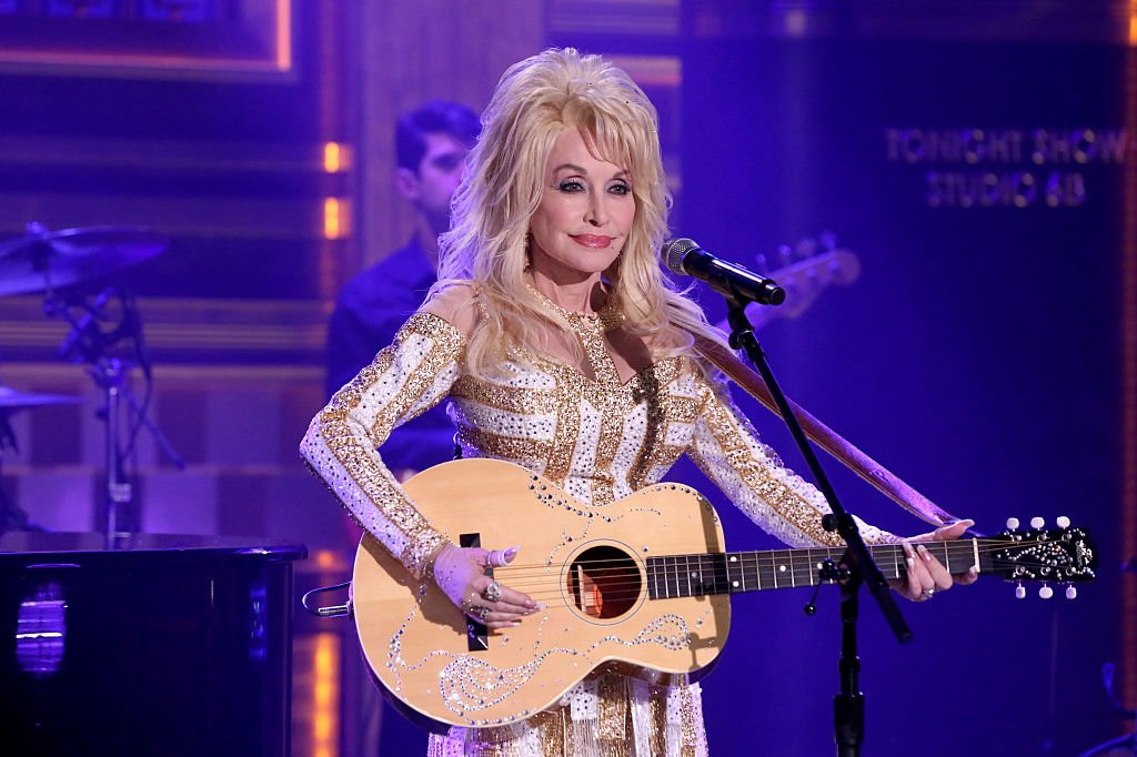 """Dolly Parton performing on """"The Tonight Show starring Jimmy Fallon"""" in 2016.   Photo: Getty Images"""