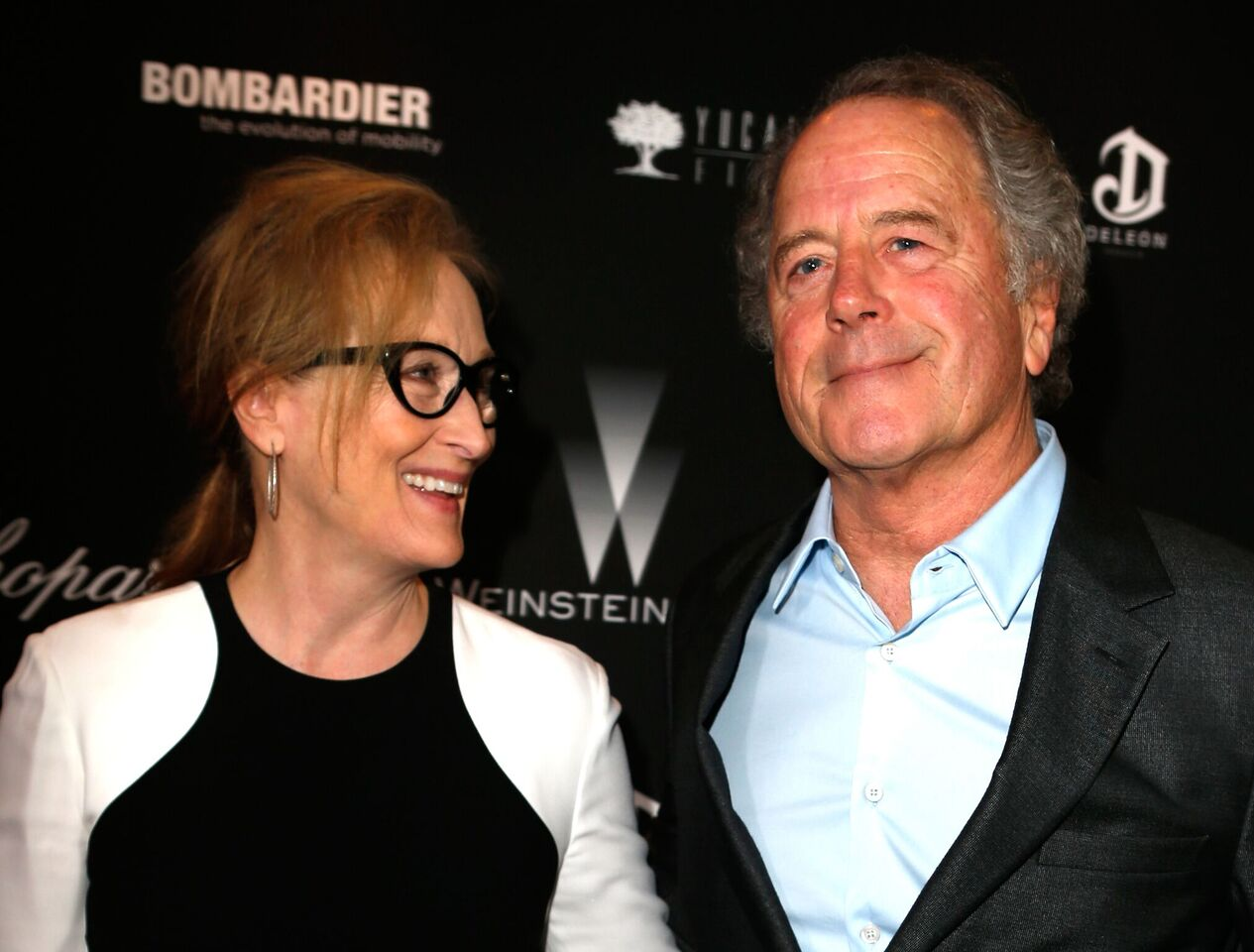Meryl Streep and Don Gummer attend The Weinstein Company's Academy Award. | Source: Getty Images