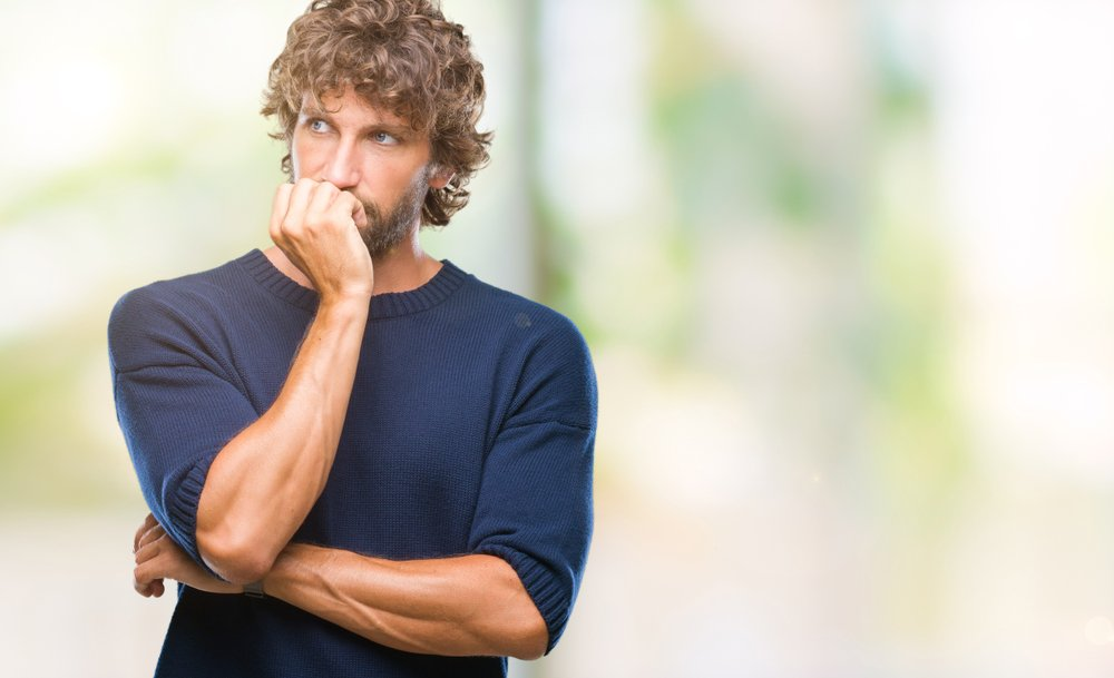 A photo of a worried young man, | Photo: Shutterstock