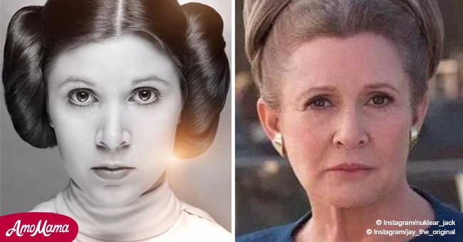 Mirror: Carrie Fisher to appear in new 'Star Wars' film