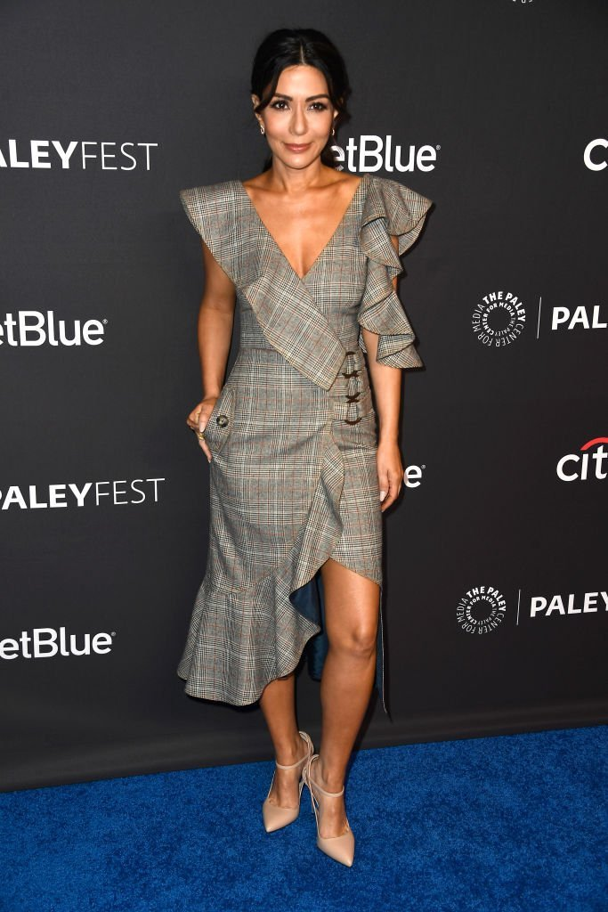 Marisol Nichols attends 35th Annual PaleyFest Los Angeles in Hollywood, California on March 25, 2018 | Photo: Getty Images