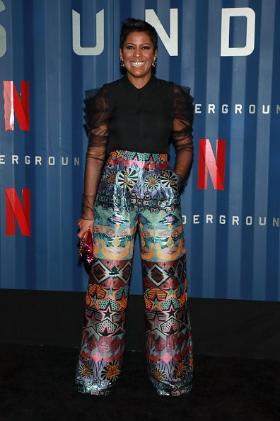"""Tamron Hall attends Netflix's """"6 Underground"""" New York Premiere at The Shed in New York City.   Photo: Getty Images"""