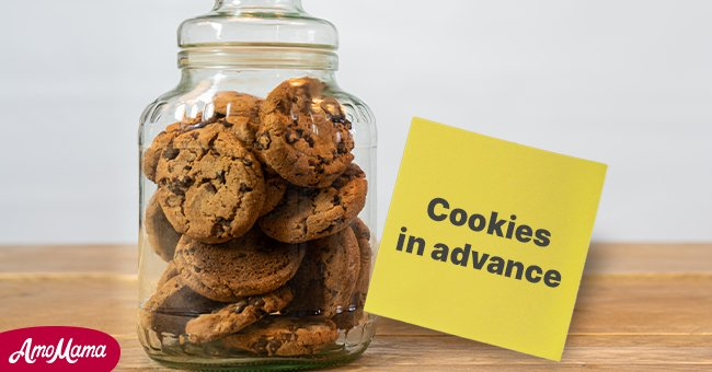 His wife started baking his favorite cookies!   Photo: Shutterstock