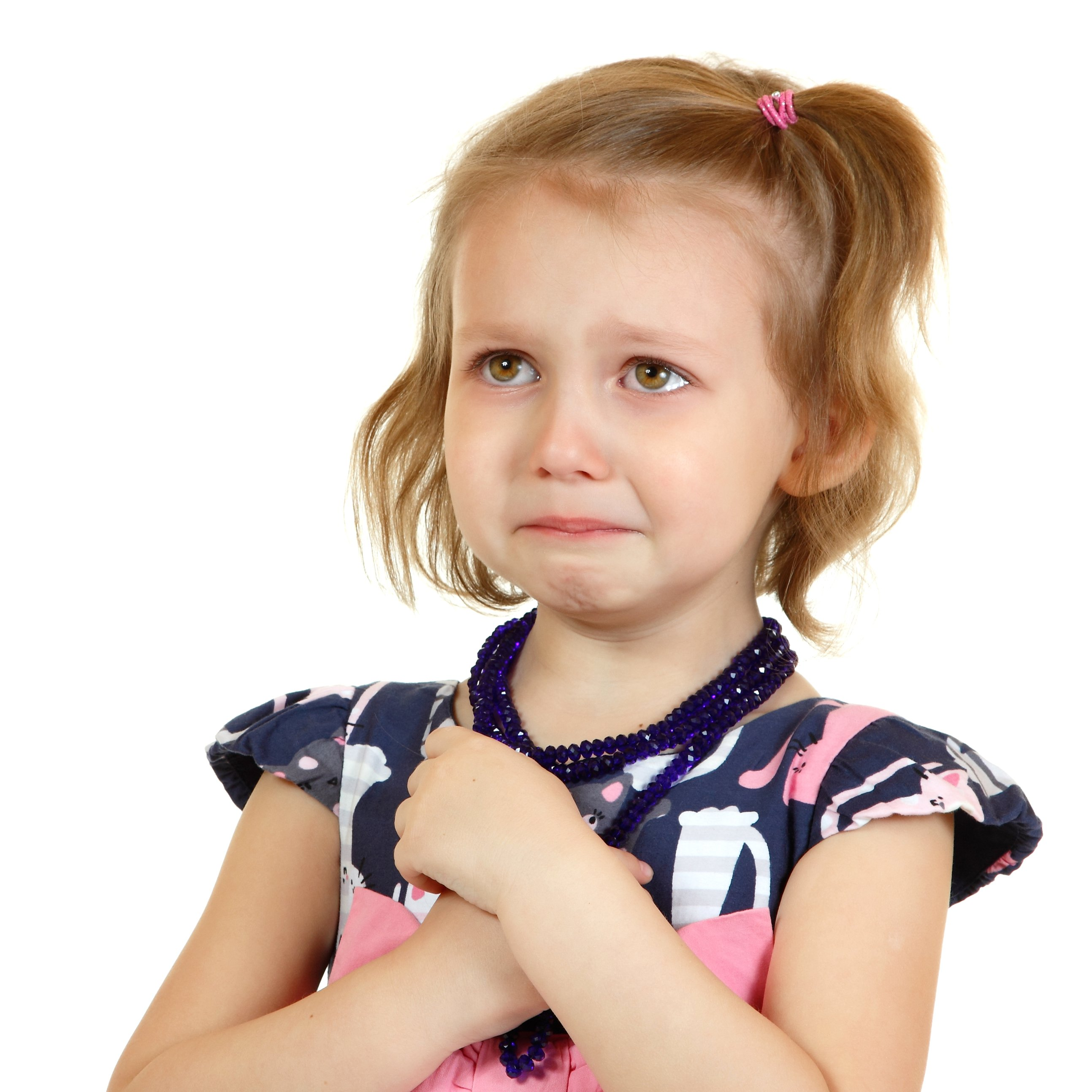 A little girl crying.   Source: Shutterstock