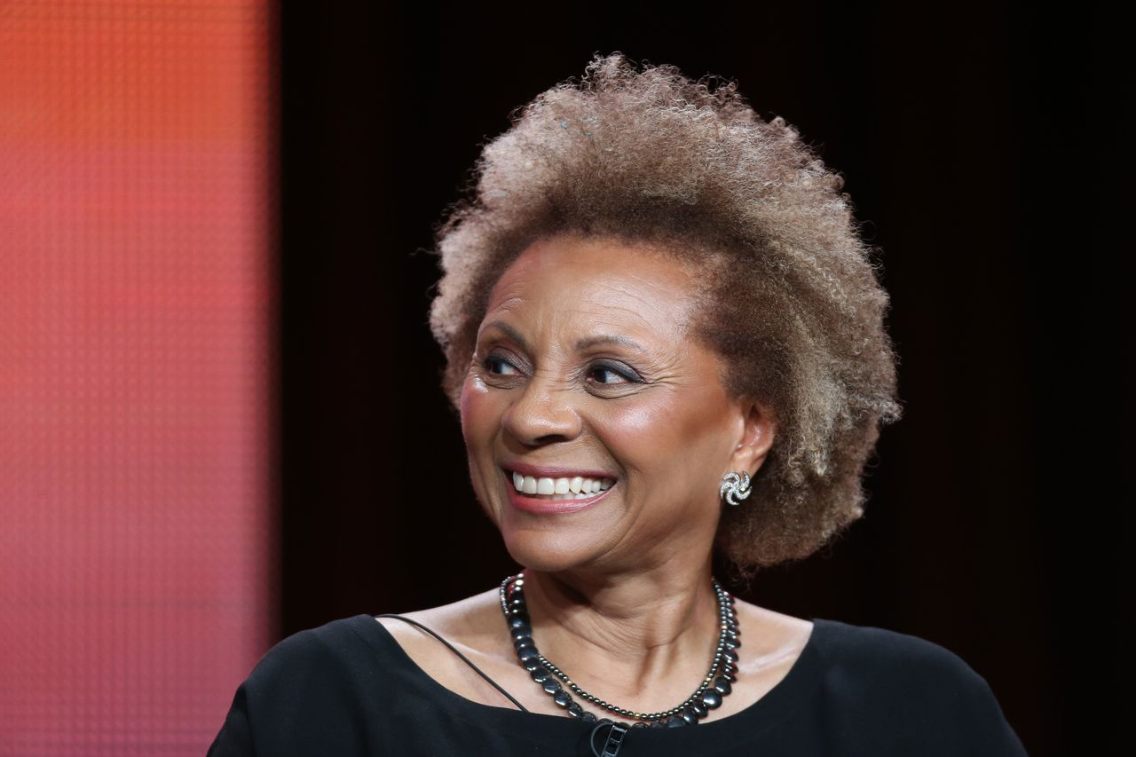 Leslie Uggams speaks during the panel discussion at the PBS portion of the 2014 Winter Television Critics Association tour at Langham Hotel on January 21, 2014 in Pasadena, California.   Source: Getty Images