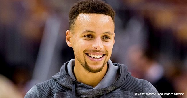 Steph Curry warms hearts with photo of newborn son wrapped in a striped blanket